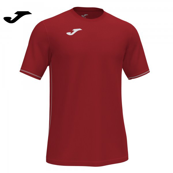 Joma CAMPUS III SHIRT RED S/S - Adult.
