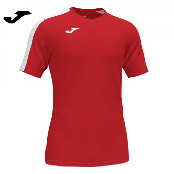 Joma ACADEMY III SHIRT RED-WHITE S/S - Adult.