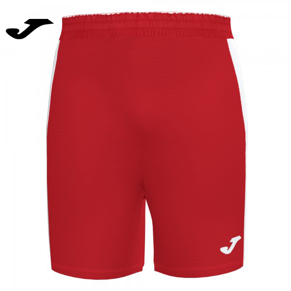 Joma MAXI SHORT RED-WHITE - Adult.