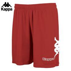 Kappa TALBINO Short (RED/WHITE) - Adult.