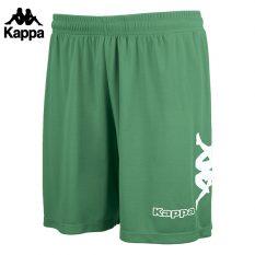 Kappa TALBINO Short (GREEN/WHITE) - Adult.