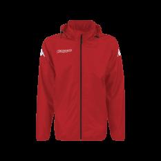 Kappa MARTIO Rain Jacket (Red) - Adult.