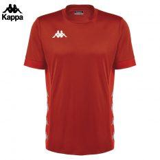 Kappa DERVIO Shirt (RED/RED DAHILA DK) - Adult.