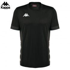 Kappa DERVIO Shirt (BLACK/GREY DK) - Adult.