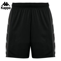 Kappa DELEBIO Short (BLACK/GREY DK) - Adult.