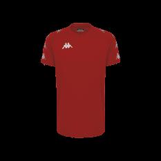 Kappa ANCONE T-Shirt (Red / Red Dahila) - Adult.