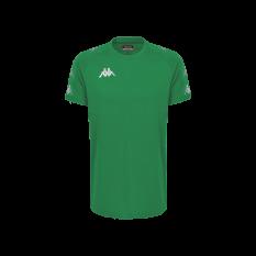 Kappa ANCONE T-Shirt (Green Bosphorus / Green Galapago) - Adult.