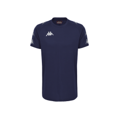 Kappa ANCONE T-Shirt (Blue Marine / Blue Cobalt) - Adult.