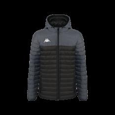Kappa LAMEZIO Insulated Jacket (Black / Grey) - Adult.