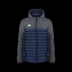Kappa LAMEZIO Insulated Jacket (Blue Marine / Grey) - Adult.