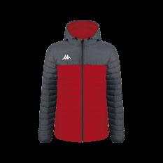 Kappa LAMEZIO Insulated Jacket (Red / Grey) - Adult.