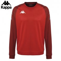 Kappa PARME Training Top (RED/RED DAHILA DK) - Adult.