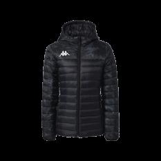 Kappa LAMEZIA Womens Insulation Jacket (Black / Grey) - Adult.