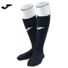 Joma CALCIO 24 SOCKS BLACK-WHITE (Pack of 4) - Adult.