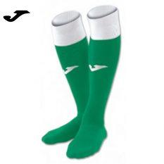 Joma CALCIO 24 SOCKS GREEN-WHITE (Pack of 4) - Adult.