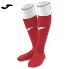 Joma CALCIO 24 SOCKS RED-WHITE (Pack of 4) - Adult.