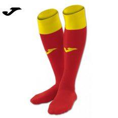 Joma CALCIO 24 SOCKS RED-YELLOW (Pack of 4) - Adult.