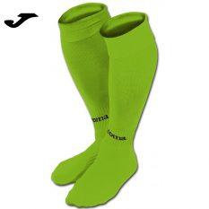 Joma CLASSIC II SOCKS FLUOR GREEN (Pack of 4) - Adult.