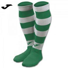Joma ZEBRA II SOCKS GREEN-WHITE (Pack of 4) - Adult.