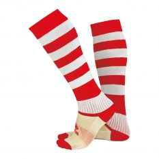 Errea ZONE Sock (Red/White) - Adult.