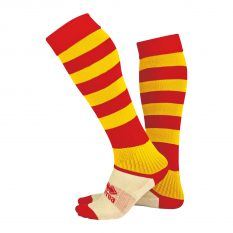 Errea ZONE Sock (Red/Yellow) - Adult.