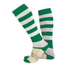 Errea ZONE Sock (Green/White) - Adult.