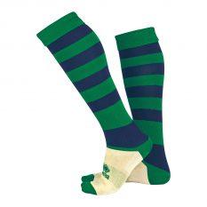 Errea ZONE Sock (Green/Navy) - Adult.
