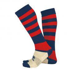 Errea ZONE Sock (Navy/Red) - Adult.