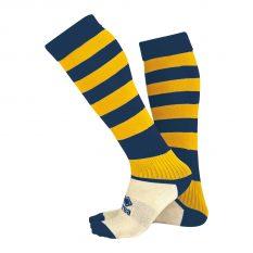 Errea ZONE Sock (Navy/Yellow) - Adult.