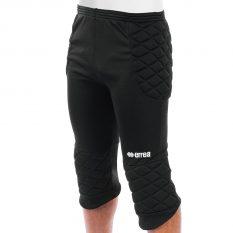 Errea STOPPER 3/4 Goalkeeper Trousers (Black) - Adult.