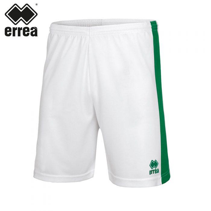 Errea BOLTON Short (WHITE GREEN) - Adult.