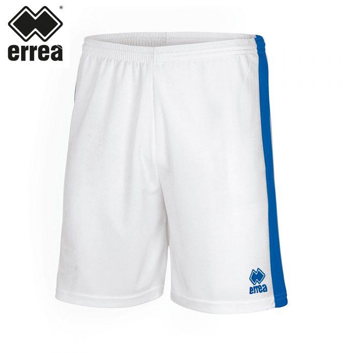 Errea BOLTON Short (WHITE BLUE) - Adult.