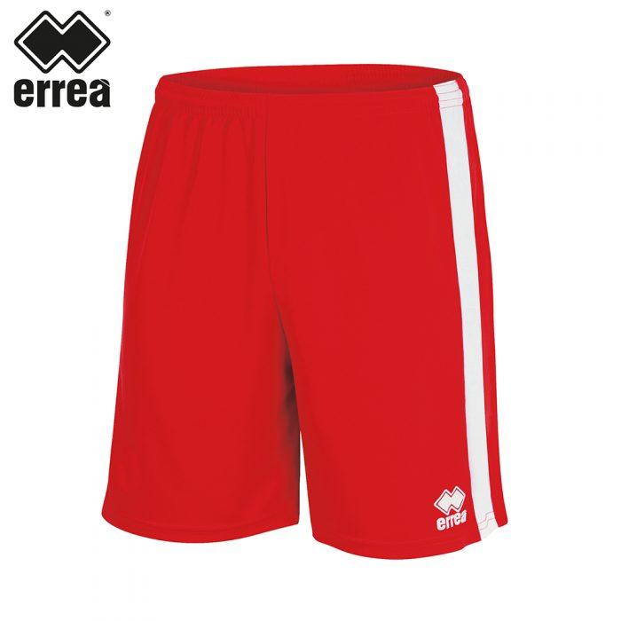 Errea BOLTON Short (RED WHITE) - Adult.