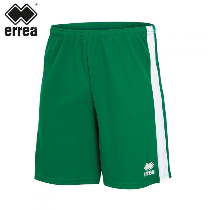 Errea BOLTON Short (GREEN WHITE) - Adult.