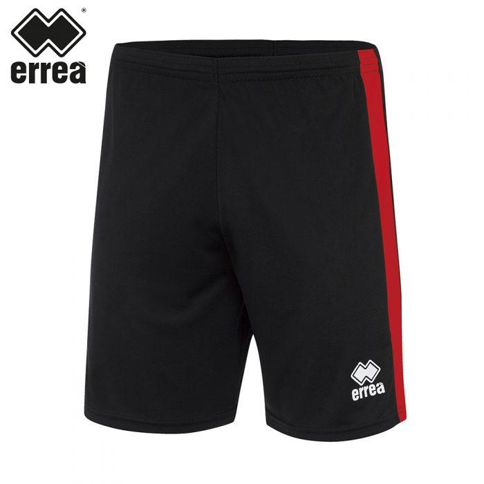 Errea BOLTON Short (BLACK RED) - Adult.