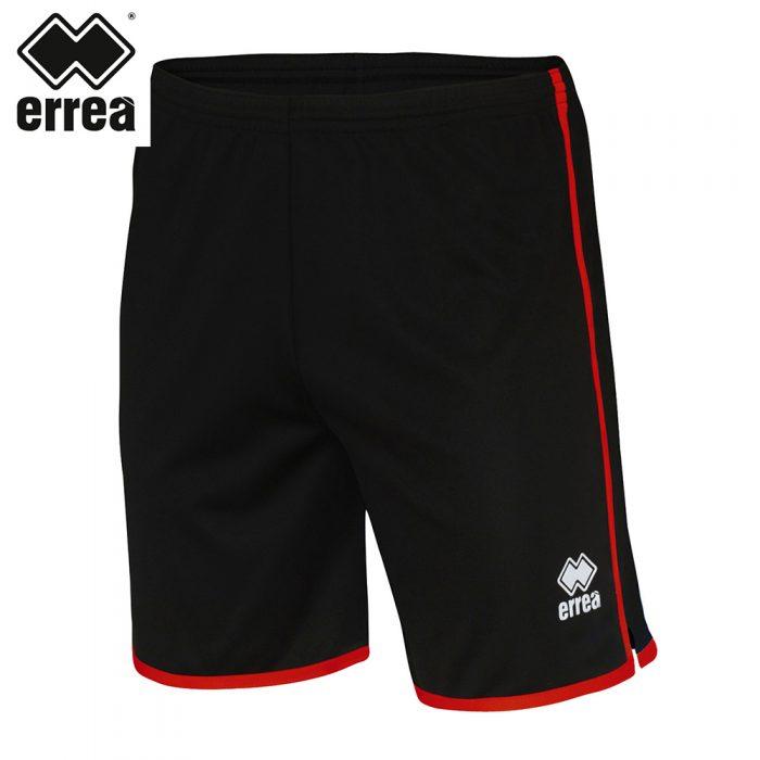 Errea BONN Short (BLACK RED) - Adult.