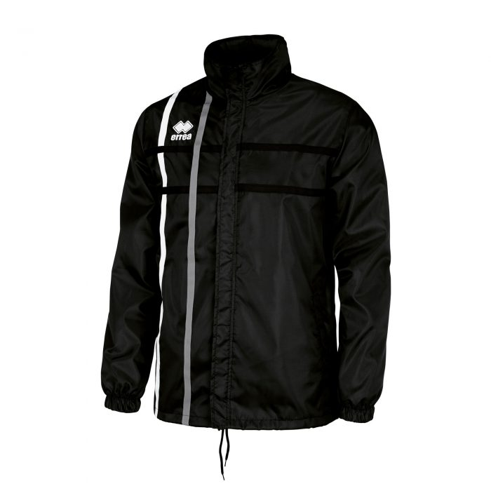 #60. Errea MITCHELL Jacket (Black/White/Anthracite) - Child.
