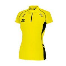 Errea KIMERA WOMAN Shirt (Yellow Fluo/Black) - Adult.
