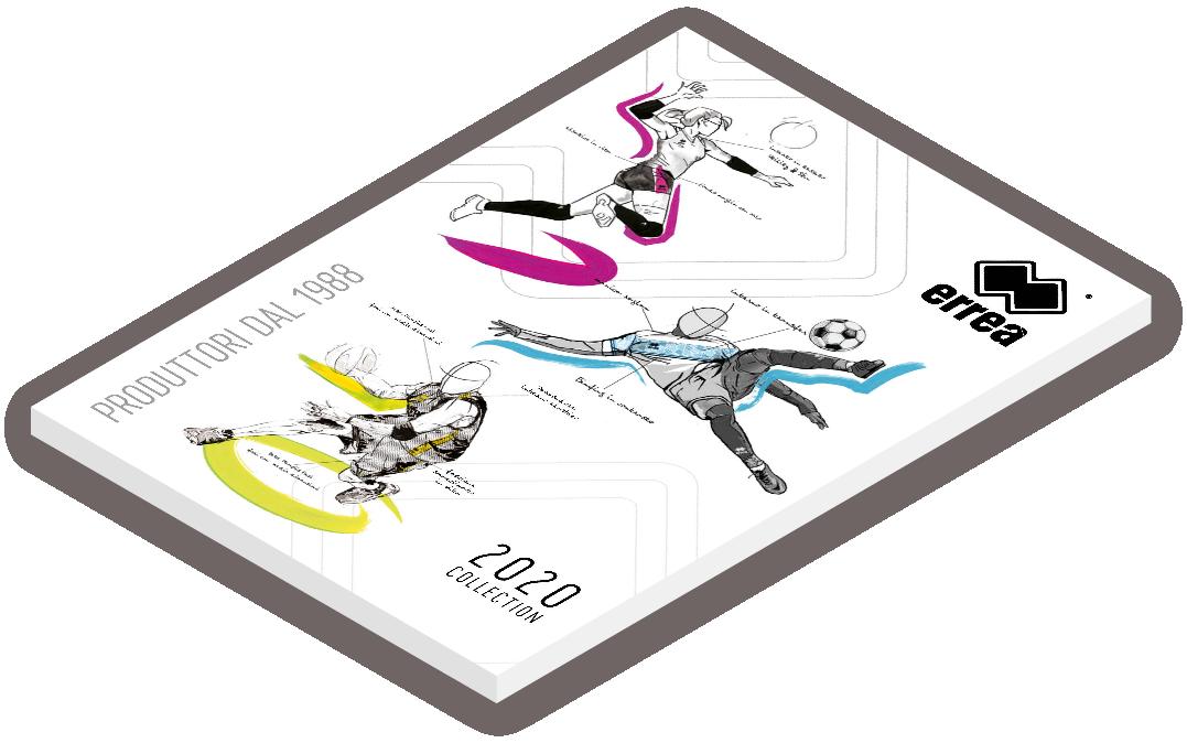 Errea Catalogue 2020 Cover 3d