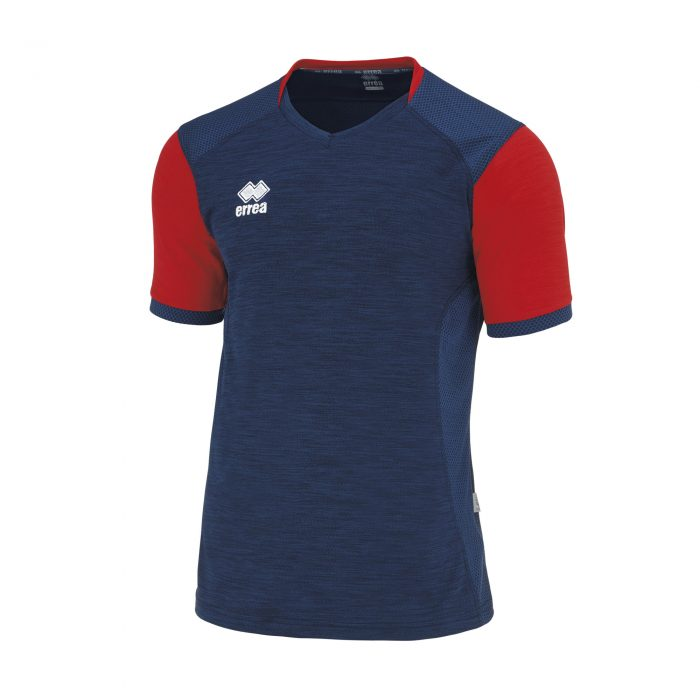 #90. Errea HIRO Shirt (Red/Navy) Short Sleeve - Child.