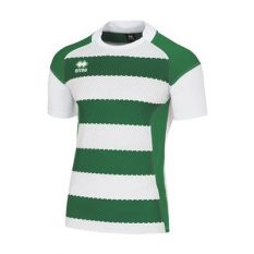 Errea TREVISO 3.0 Shirt (White/Green) - Adult.