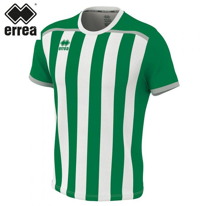 Errea ELLIOT Shirt SS (GREEN WHITE) - Adult.