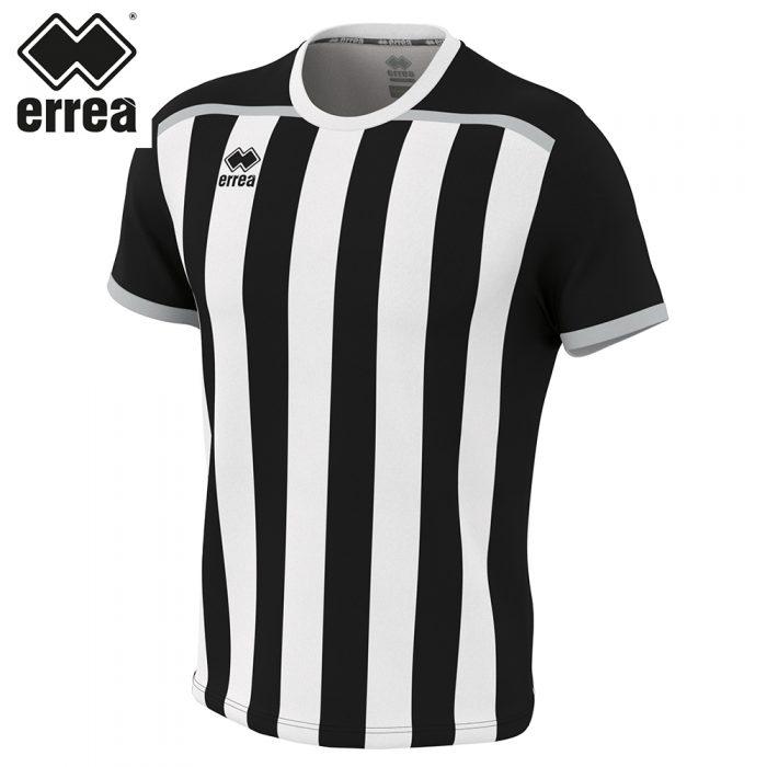 Errea ELLIOT Shirt SS (BLACK WHITE) - Adult.