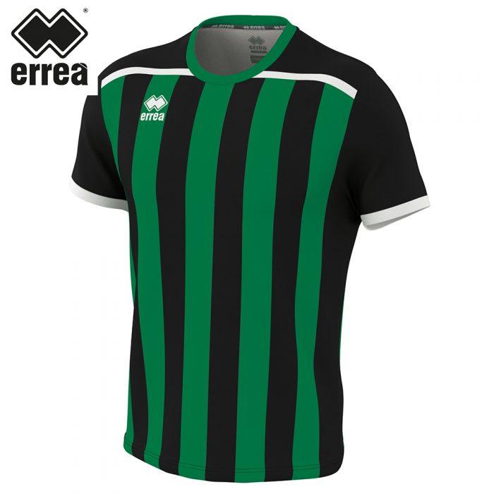 Errea ELLIOT Shirt SS (BLACK GREEN) - Adult.
