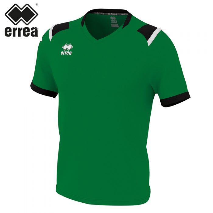 Errea LUCAS Shirt SS (GREEN/BLACK/WHITE) - Adult.