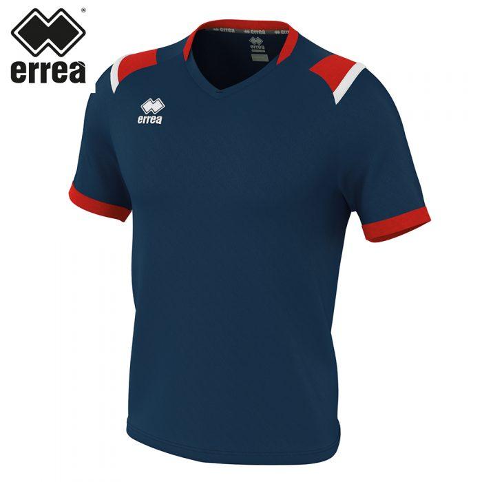 Errea LUCAS Shirt SS (NAVY RED WHITE) - Adult.