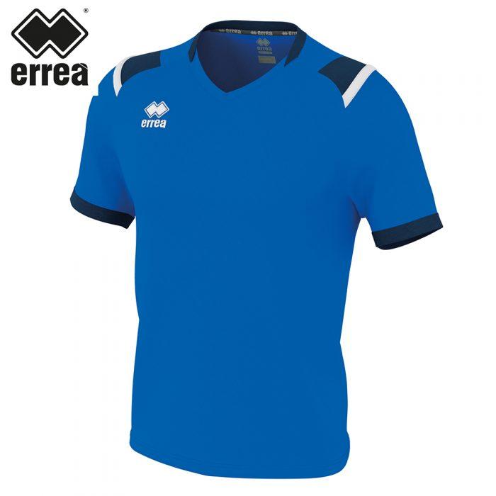 Errea LUCAS Shirt SS (BLUE NAVY WHITE) - Adult.