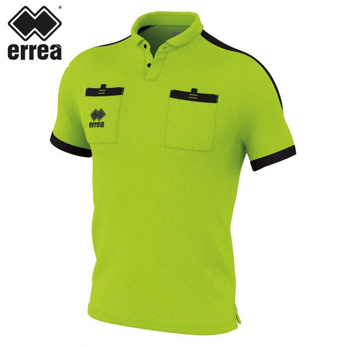 Errea DOUG Shirt SS (GREEN FLUO BLACK) - Adult.