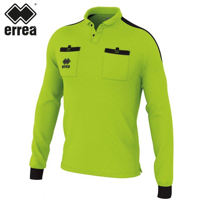 Errea DOUG Shirt LS (GREEN FLUO BLACK) - Adult.