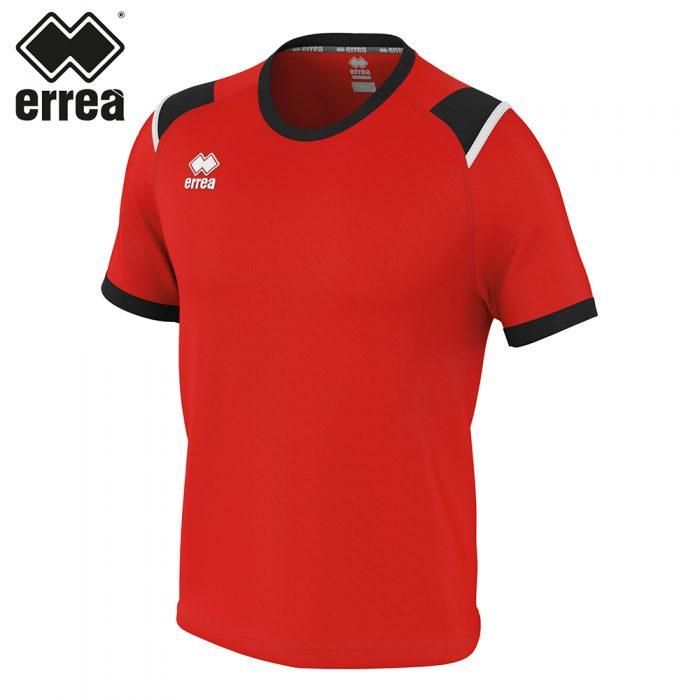 Errea LEX Shirt SS (RED BLACK WHITE) - Adult.